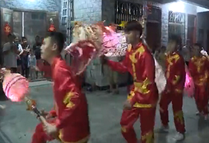 Traditional folk customs in Qionghai: Carp Lantern Dance