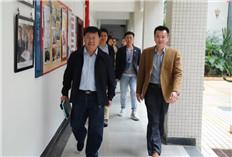 Hainan University's vice president visits HAITC
