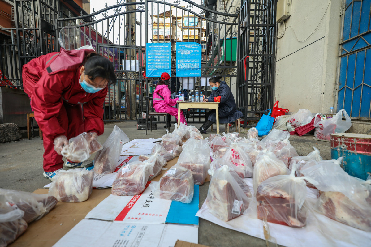 Pork from state reserves distributed to WHDZ communities
