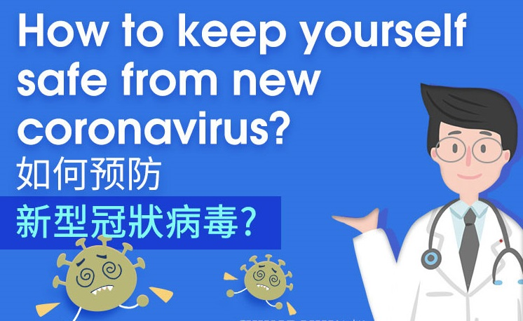 How to keep yourself safe from new coronavirus?