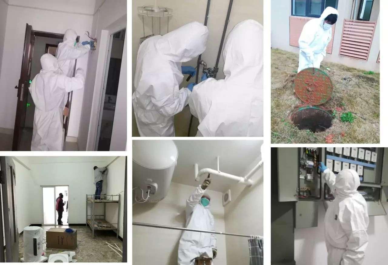 WHDZ quarantine, treatment station reports zero infections