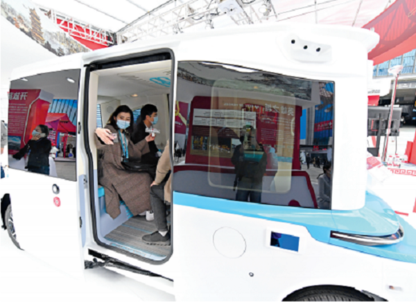 Dongfeng's Sharing-VAN shines at 3rd CIIE