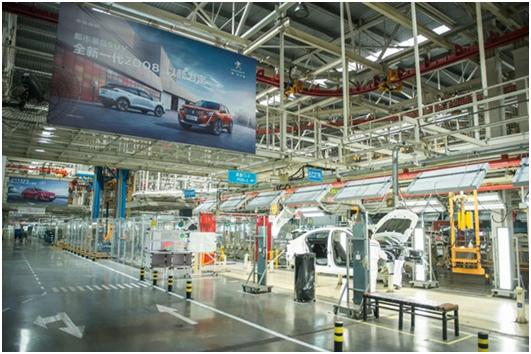 Dongfeng Peugeot Citroen fördert die Produktionskapazität