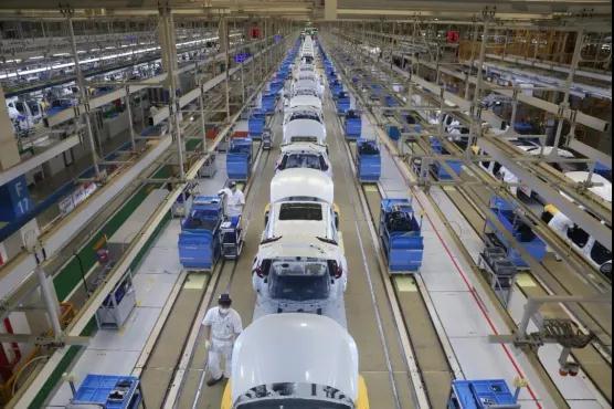 東風本田工場 生産量がピークに達す
