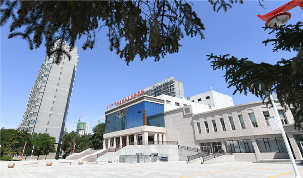Hohhot Ulan Muqir Theatre is pictured at Jinqiao Economic Development Zone on July 5..jpg