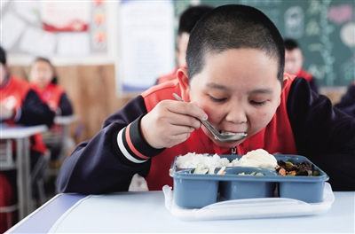 Hohhot promotes school meals services