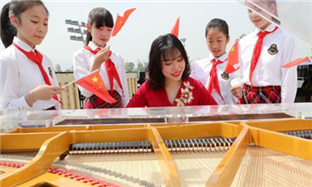 Intl piano festival highlights Grand Canal culture