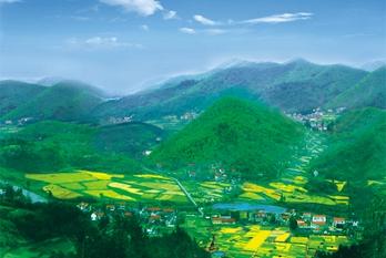 Green development leads Huzhou to prosperity