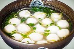 Fish balls with fillings