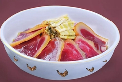 Dried bamboo shoots and bacon