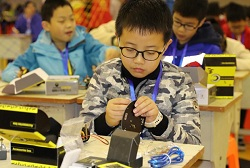 Deqing county holds AI fun games for adolescents
