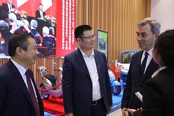 Huzhou energy company deepens cooperation with French battery maker