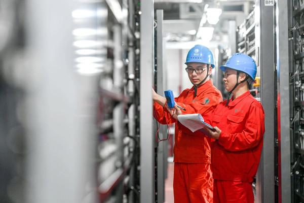 Huzhou decarbonizing electricity generation