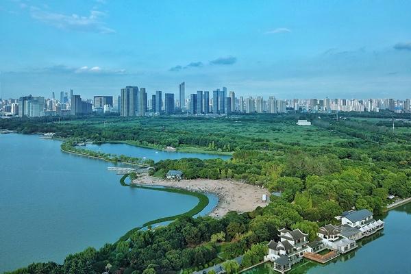 Binhu district progresses in environmental development