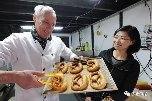 German baker fond of Taicang