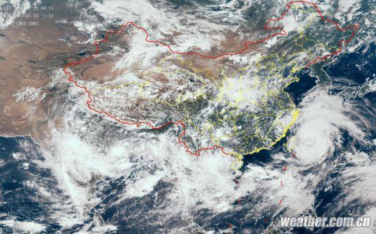 Jiangsu ups alert for flood