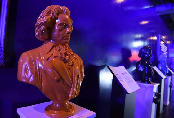 Beethoven arts exhibition held in Taicang