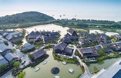 Enjoy Buddhist culture and views at Lingshan, Nianhuawan