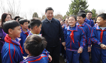 Xi extends Children's Day greetings