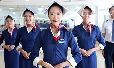Future flight attendants get prepared for the blue sky