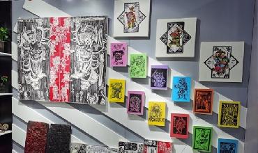 Nantong art education takes spotlight at provincial show