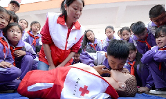 China launches campaign to promote first aid training in schools