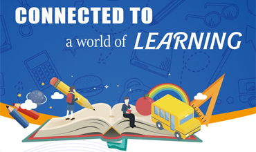 Connected to a world of learning