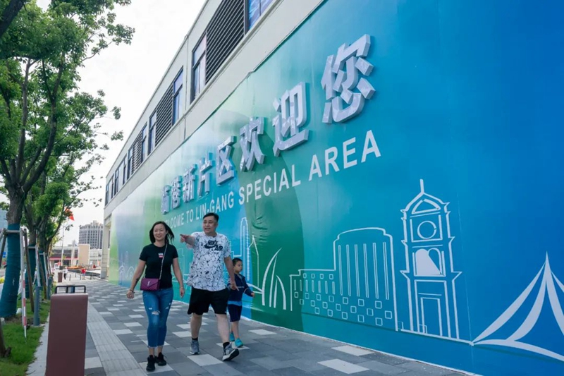 Photo expo shows changing Lin-gang Special Area3.jpg