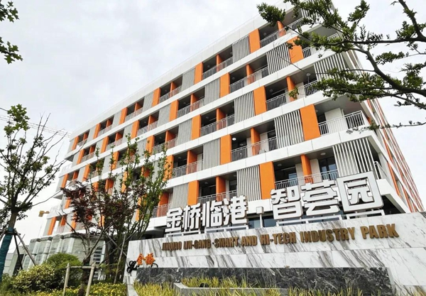 Apartments open in Jinqiao Lin-gang industry park-1.jpg