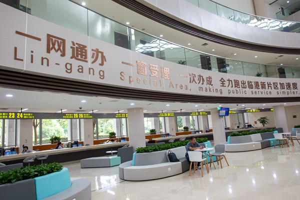 Shanghai pilots business investment system in Lin-gang.jpg