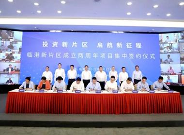Lin-gang set to get first 100b yuan industry cluster.jpg