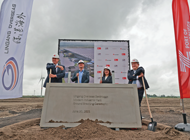 Work begins on major China-Belgium port logistics.png