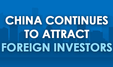 China continues to attract foreign investors
