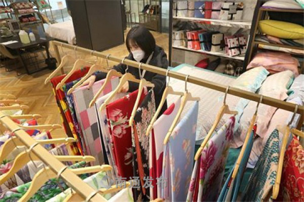 Dearshiqiao home textile market resumes operation
