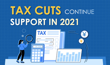 Tax cuts continue support in 2021