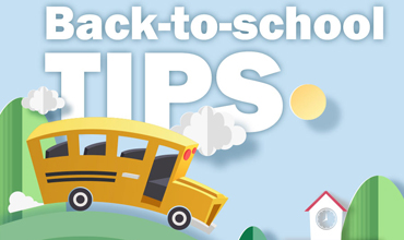 Tips for a safe return to school