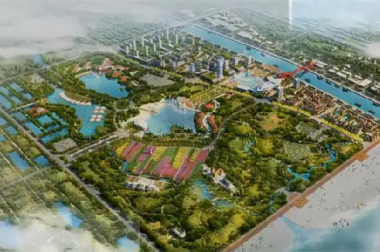 Qidong seaside complex rated key cultural, tourism project