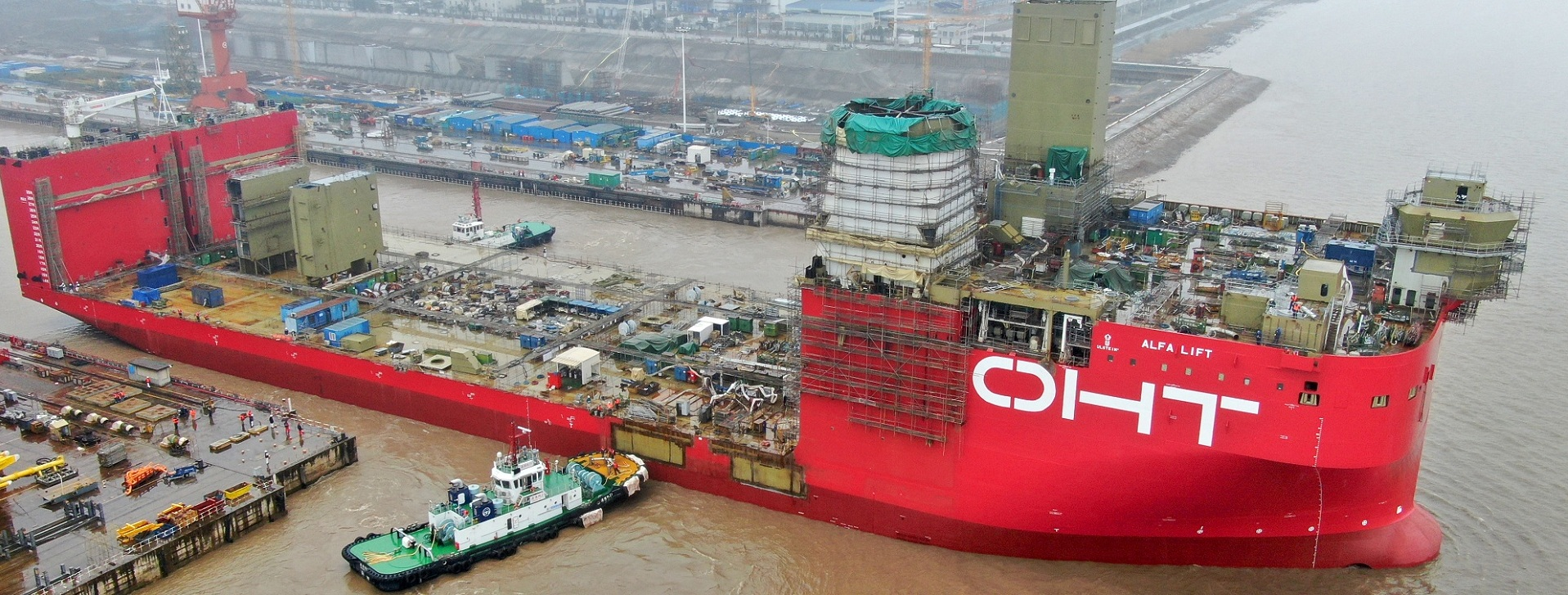 Two Haimen-built vessels leave dock