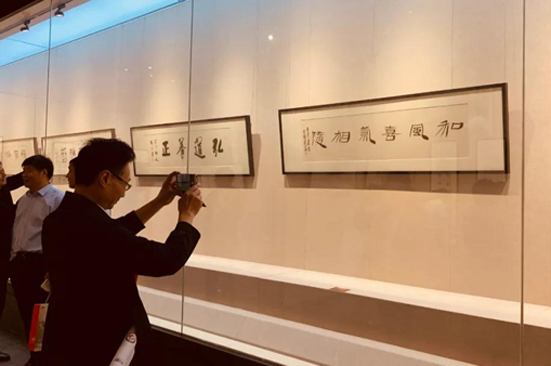 Exhibition of leading artists kicks off in Hai'an city