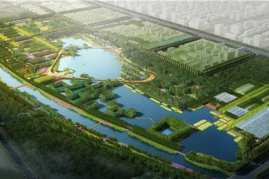 Rudong's first wetland-themed landscape park to open soon