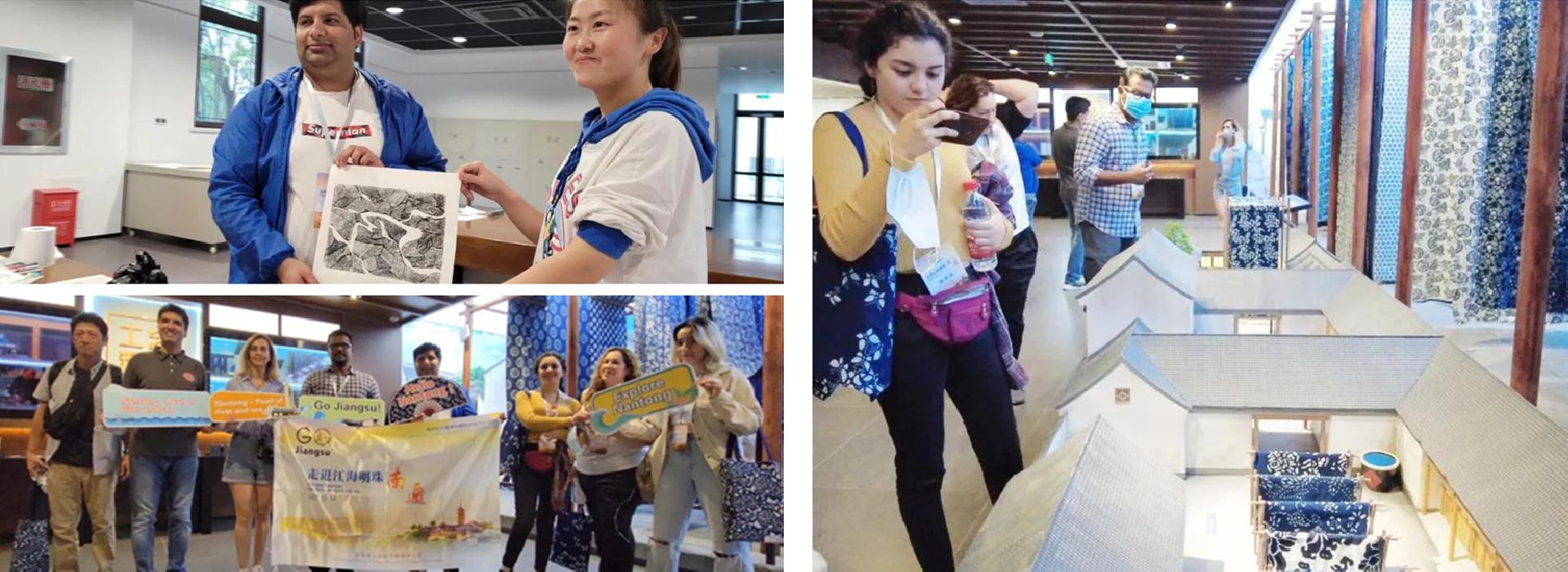 【Go Jiangsu】Expats experience traditional local culture in Qidong