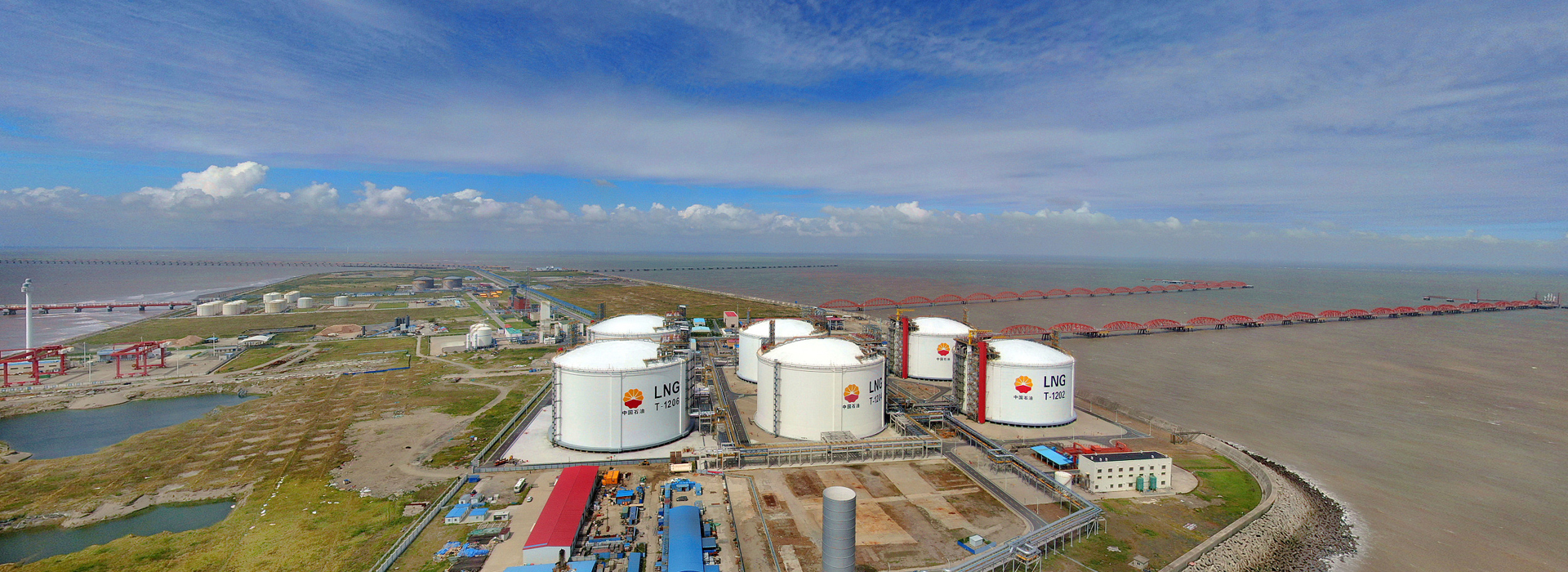 LNG storage tanks in Rudong to be available for winter