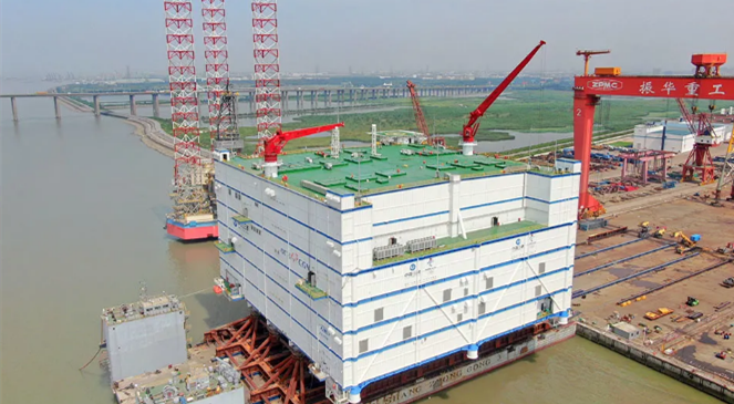 NETDA dispatches world's biggest offshore converter station
