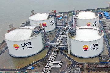 Jiangsu LNG terminal goes full out to meet rising demand