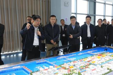 Yangkou Port receives Ministry of Transport delegation