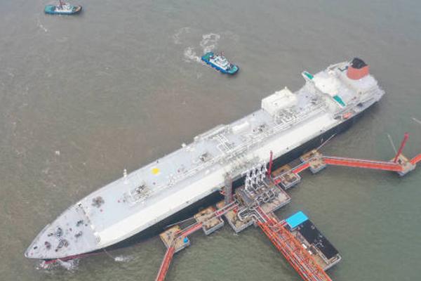 Jiangsu LNG terminal ensures summer natural gas supplies