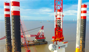 Luneng offshore wind power plant in Rudong to be connected to grid