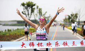 Triathlon training match held in Golden Beach