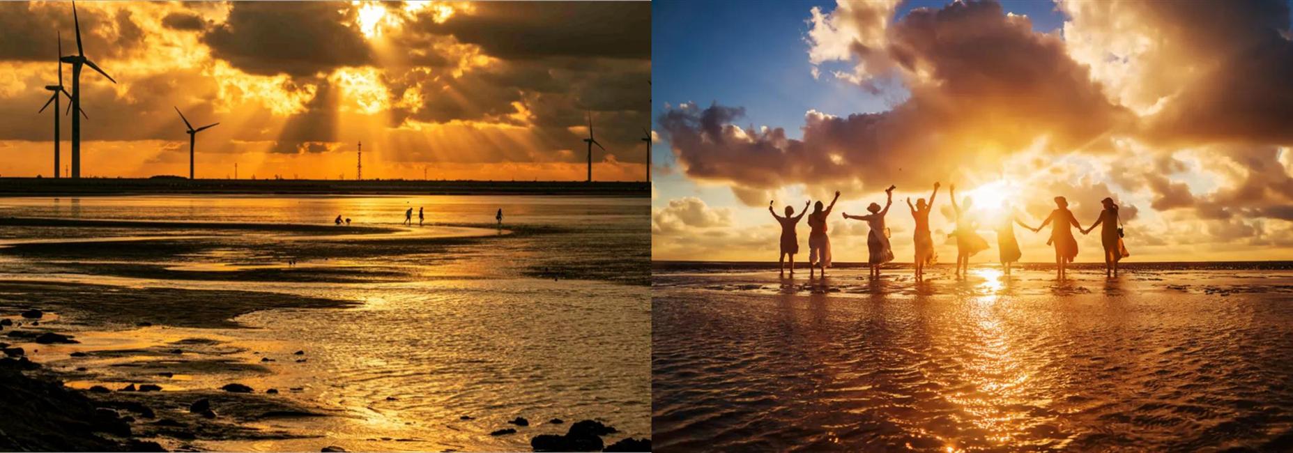 Enjoy sunrise at Golden Beach