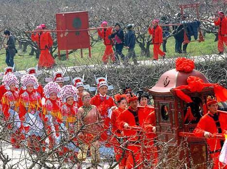 Wedding Custom: 'Ninghai Ten-mile Red Dowry'
